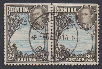 BERMUDA 2.1/2d BOOKLET STAMPS FINE USED
