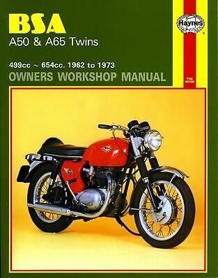 BSA A 65L Lightning (UK) 1964-1973 Manuals - Haynes (Each)