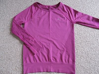 NEW Ladies running sport exercise top size medium pink