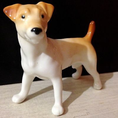 Jack Russell Terrier Porcelain figurine high quality made in Russia