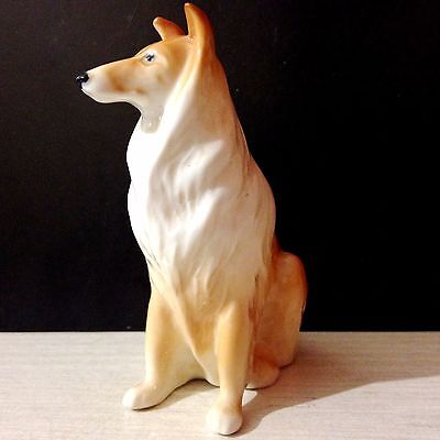 Afghan Hound Dog porcelain figurine from Russia