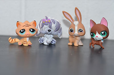 My Littlest Petshop Mini Bundle of 4 little Pets