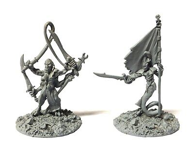 Warmaster - Daemons Characters of slaanesh - 10mm