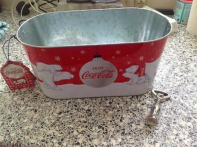 Coca Cola - Ice Bucket & Bottle Opener