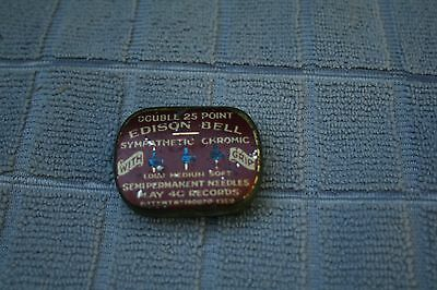 Edison Bell Record Needle Tin