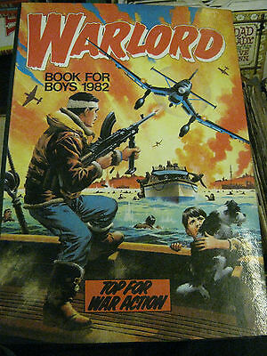 The Warlord Book For Boys 1982   Annual Hb