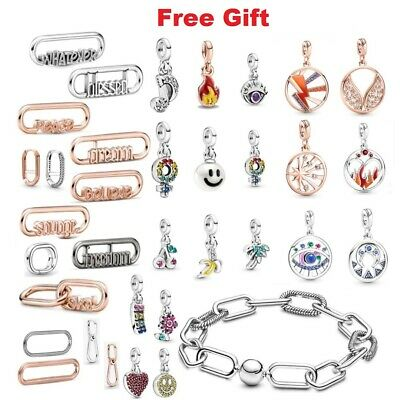 Genuine 925 Sterling Silver ME Charms Dangle for ME Charm Bracelet ONLY