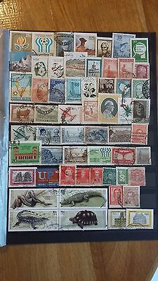 58 timbres Argentine (lot ja9)