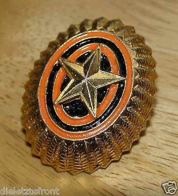 """RUSSIAN ARMY OFFICER """"Cap Badge"""" POST SOVIET TYPE UNISSUED"""