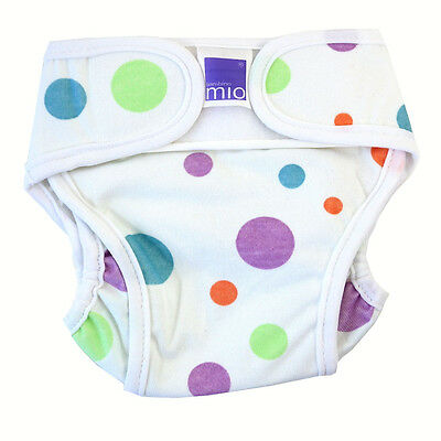 Miosoft Bambino Spots & Dots Reusable Nappy Cover Newborn Size Up To 5kg 11lbs