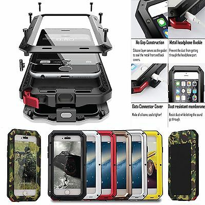 Shockproof Metal Tank Best New Cover Case For iPhone/Samsung