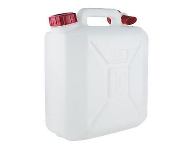 Yellowstone 10 Litre Jerrycan, Water,  Plastic, Camping, Caravan, Portable
