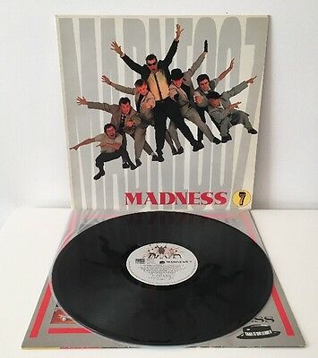 Madness  7 1981 Stiff SEEZ 39 Vinyl LP EX/EX Pro Cleaned and Play Tested