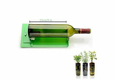 Glass Bottle Cutter, Scoring,Machine,Reuse ,Recycle, Stained, Tumbler, Green