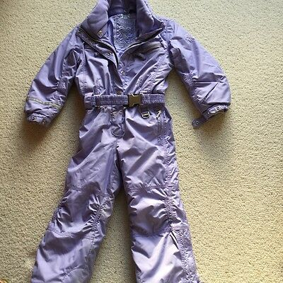 girls ski suit, poivre blanc, top quality, age 4-5, lilac.