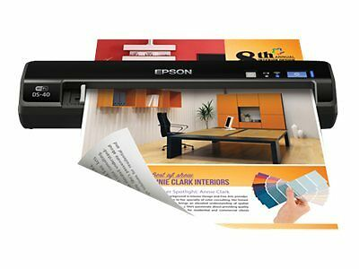 Epson DS-40 Portable, Compact Scanner New  Free Shipping!