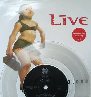 "LIVE: I Alone (7"" CLEAR VINYL) RAX13 Throwing Copper ed kowalczyk"