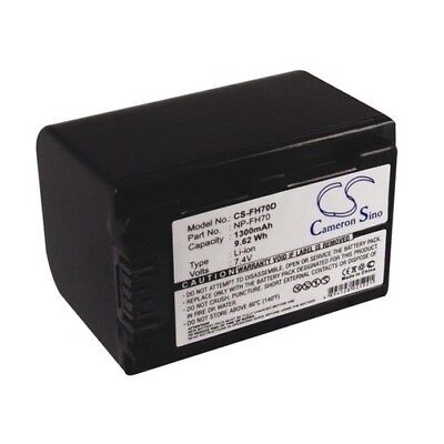 Replacement Battery For SONY CR-HC51E 1300mAh