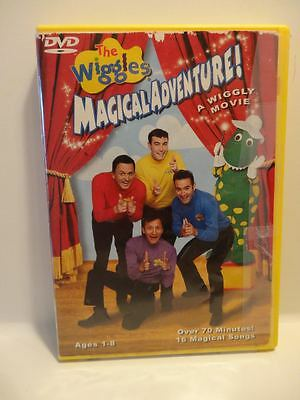 The Wiggles Magical Adventure..!!..dvd