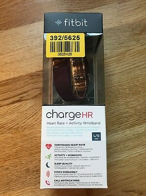 fitbit charge hr Purple Boxed