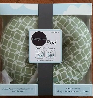 BabyMoon Pod Pillow Flat Head Syndrome Plagiocephaly Tort Neck Support