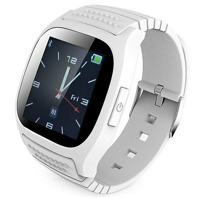 RWATCH M26 Smartwatch Montre Connectée Bluetooth Android IOS - blanche - FRANCE
