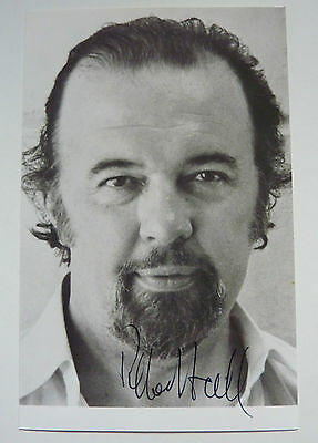 Peter Hall  Theatre and Film Director  Signed  Black and White Photo  6 x 3