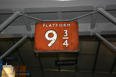 British Railways 9.3/4 Platform Sign Picture Potter