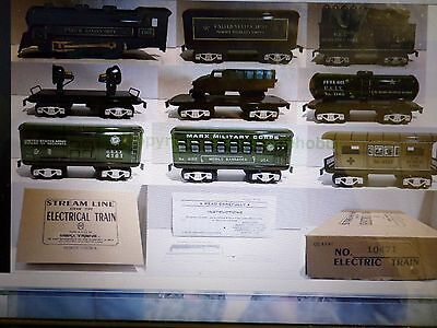 Marx Modern Army Train Set Complete & New In Original Box W/Papers Never Out 1