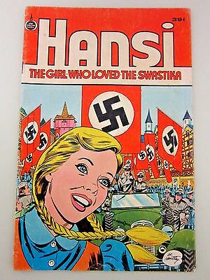 Hansi : The Girl Who Loved The Swastika 39 cent cover Spire Christian Comic 1973