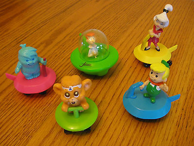 Jetsons Toy 1990  Mixed lot of 5