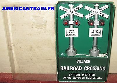 Railroad Crossing fonctionnels Department 56