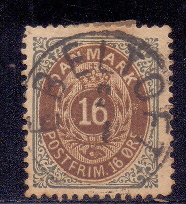 Denmark Old Rare stamp Numbers 1875.