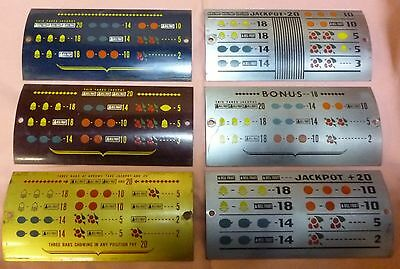Antique Slot Machine Parts ,Mills Hi Top original award cards  buy only the one!