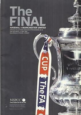 2005 FA CUP FINAL - ARSENAL v MANCHESTER UNITED