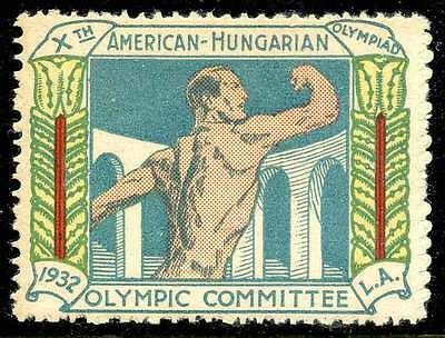 Poster Stamp - Olympics - 1932 Los Angeles - DuBois #32
