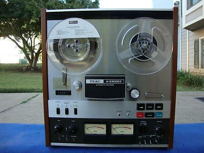 Super Nice Teac A-4300SX Reel to Reel Tape Deck w/ Auto Reverse - Pro Serviced