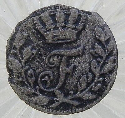 European Swedish 1733 OR Hammered Silver Coin
