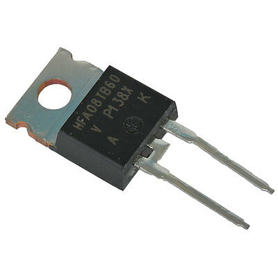 Infineon Technologies HFA08TB60PBF Diode Ultra Fast Recovery Rectifier 60 10 pcs