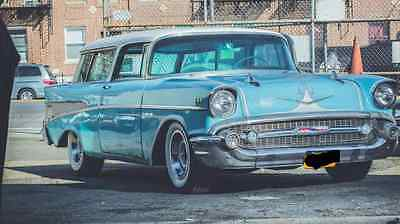 1957 Chevrolet Nomad BEL AIR 1957 Chevy Nomad Bel Air Classic Collector Restoration Low Mile Wagon Hot Rod