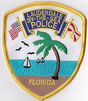 Lauderdale By the Sea Police Patch Florida FL NEW!!