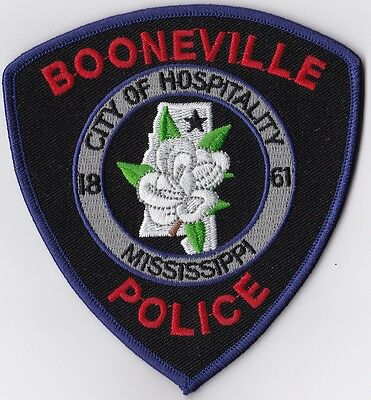 Booneville Police Patch Mississippi MS NEW!!