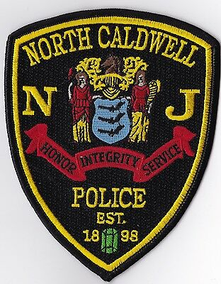 North Caldwell Police Patch New Jersey NJ NEW!!