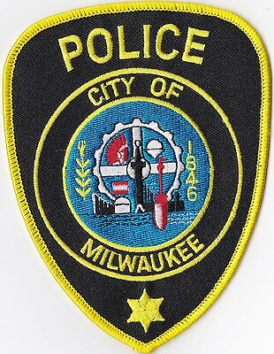 City of Milwaukee Police Wisconsin patch NEW
