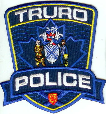 Truro Police NS Canada Patch NEW