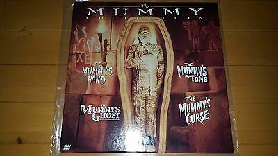 The Mummy Collection Laser Disc Triple Box Set