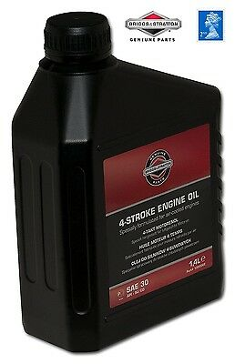 savers choice GENUINE Briggs & Stratton SAE30 Mower OIL 100006E 4016153100067