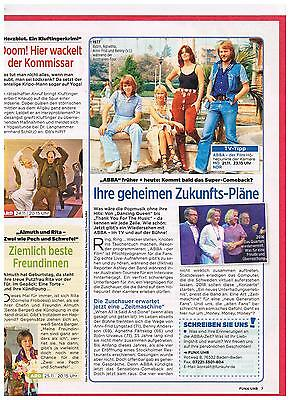 Abba- Original Clippings 1 Page