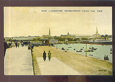 Dun Laoghaire (Kingstown) from the Pier - Irland