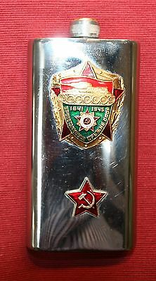 Collectable Russian Tank Troop Hip Flask. Great